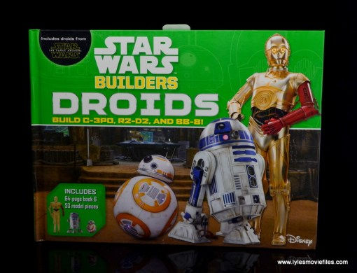 Star Wars Builders Droids set -book front