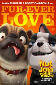 The Nut Job 2 Nutty by Nature character posters - DOGs
