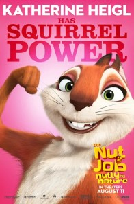 The Nut Job 2 Nutty by Nature character posters - SQUIRREL
