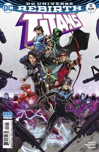 Titans #12 cover