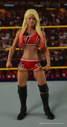 WWE Basic Alexa Bliss figure review - front side