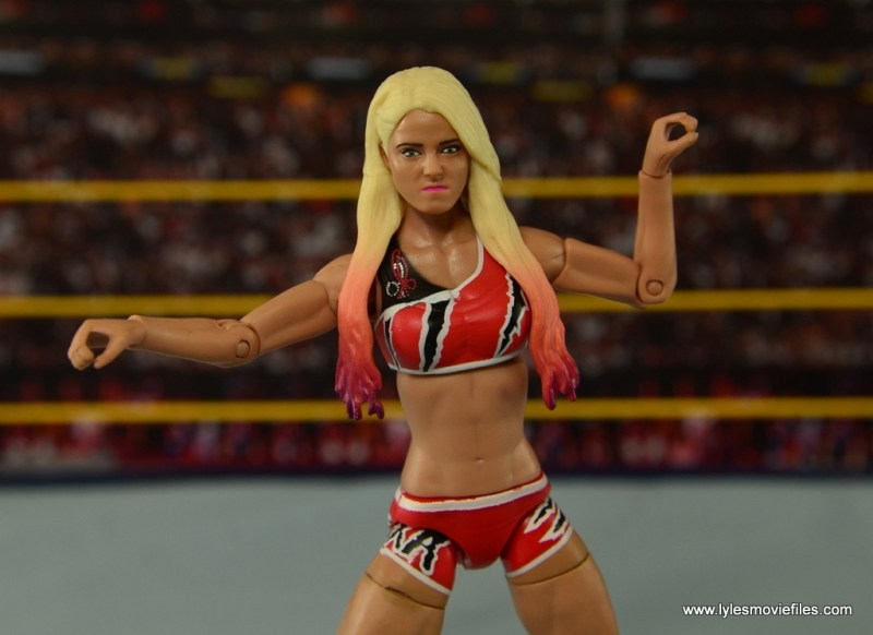 WWE Basic Alexa Bliss figure review - wide pose