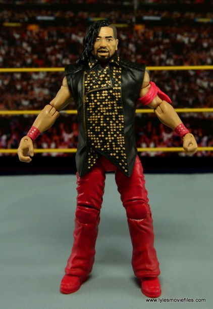 WWE Defining Moments Shinsuke Nakamura figure review -front side