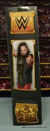 WWE Defining Moments Shinsuke Nakamura figure review -package side
