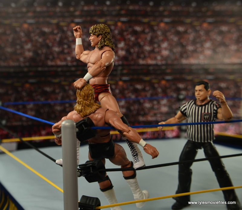 WWE Elite Flyin Brian figure review - 10 count to Lex Luger