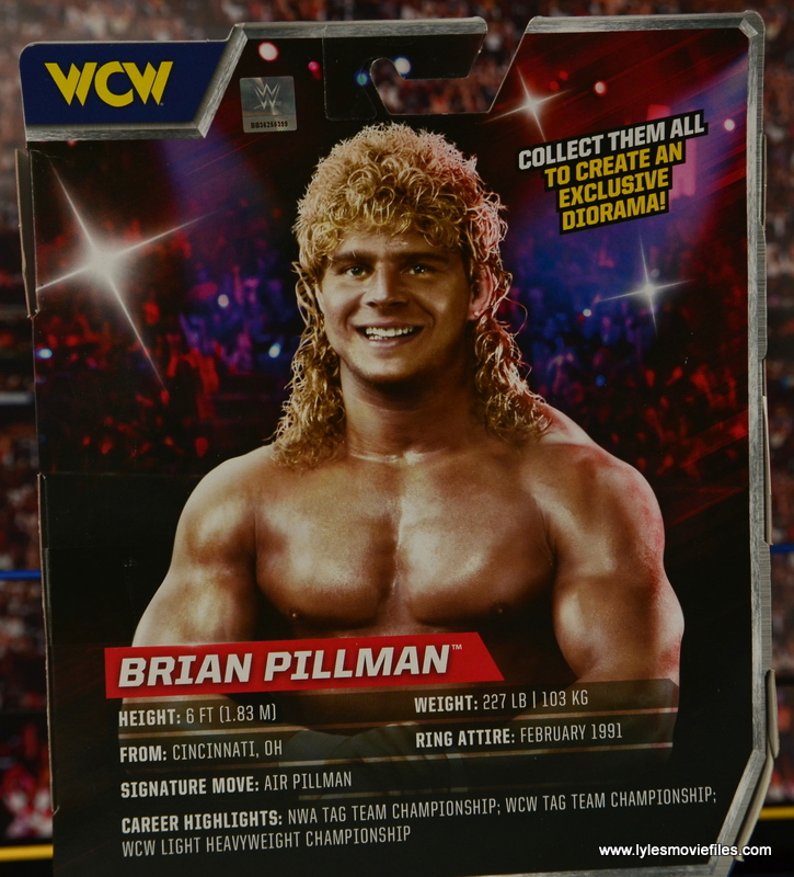 WWE Elite Flyin Brian figure review -bio