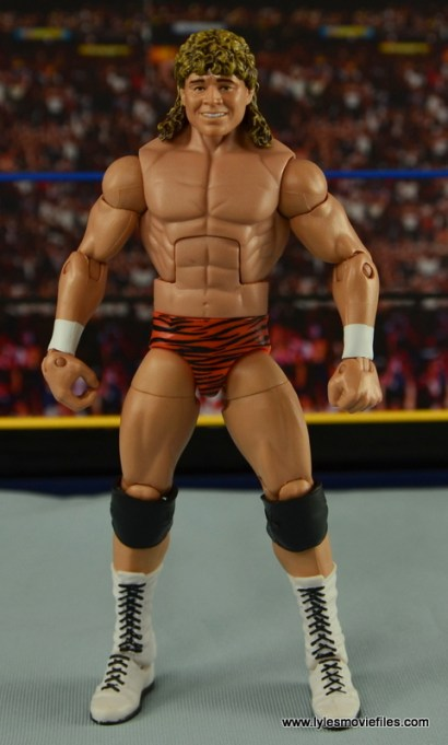 WWE Elite Flyin Brian figure review -front side