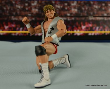WWE Elite Flyin Brian figure review - on one knee