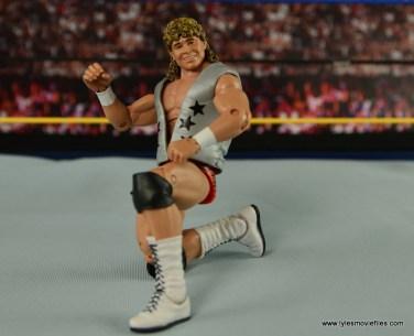 WWE Elite Flyin Brian figure review - on one knee