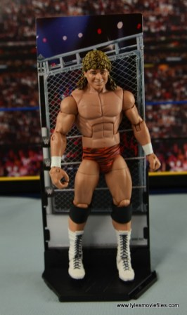 WWE Elite Flyin Brian figure review -on stand