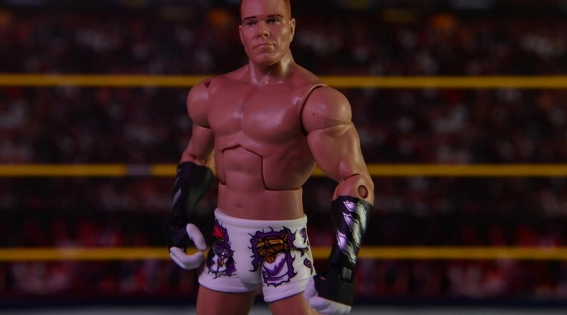 WWE Elite Tyson Kidd figure review - main pic