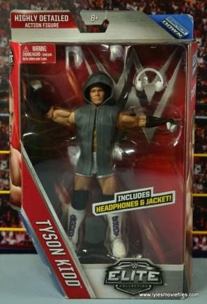 WWE Elite Tyson Kidd figure review - package front
