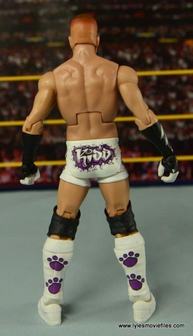 WWE Elite Tyson Kidd figure review - rear side