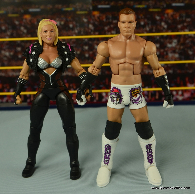 WWE Elite Tyson Kidd figure review -with Natalya