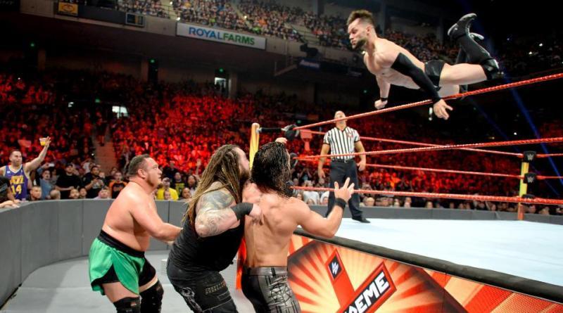 WWE Extreme Rules 2017 - Finn Balor soars
