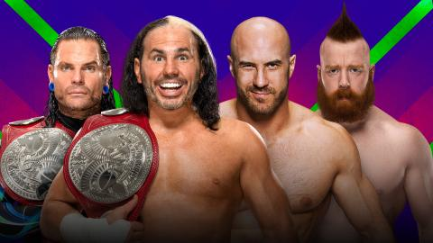 WWE Extreme Rules 2017 preview -The Hardy Boyz vs Cesaro and Sheamus