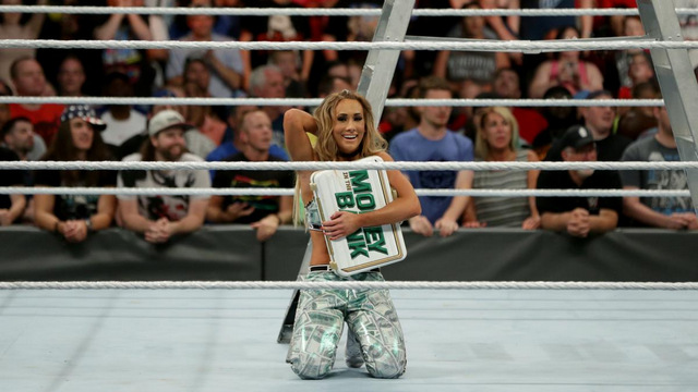 WWE Money in the Bank 2017 - Carmella
