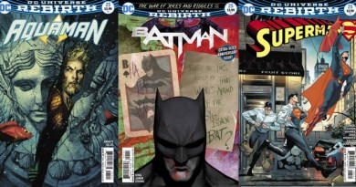 DC Comics reviews for the week of 6/21/17