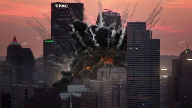 America Has Fallen movie review - CGI destruction