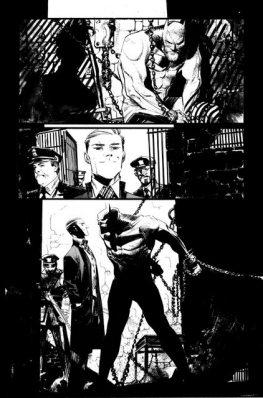 Batman The Joker White Knight interior art 3