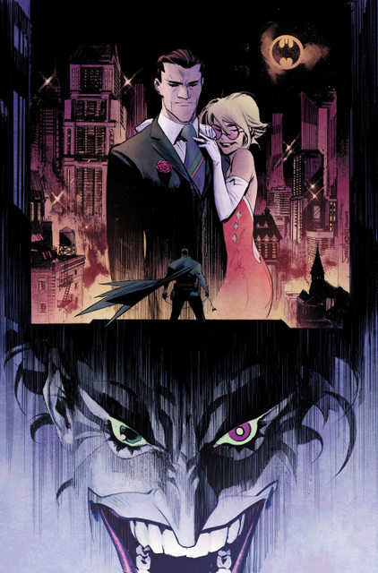 Batman The Joker White Knight interior art color
