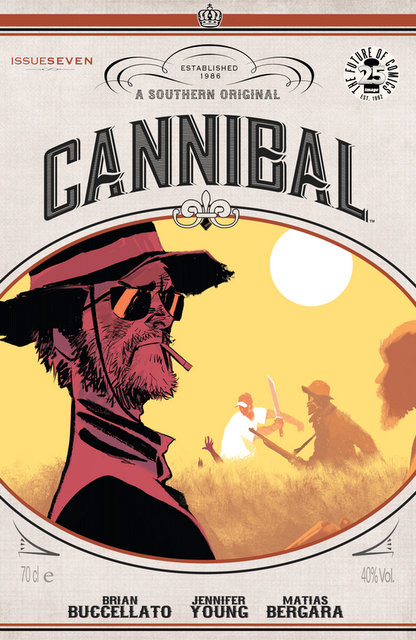 Cannibal #7 cover