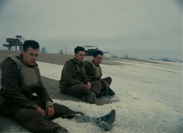 Dunkirk movie review - Harry Styles, Aneurin Barnard and Fionn Whitehead