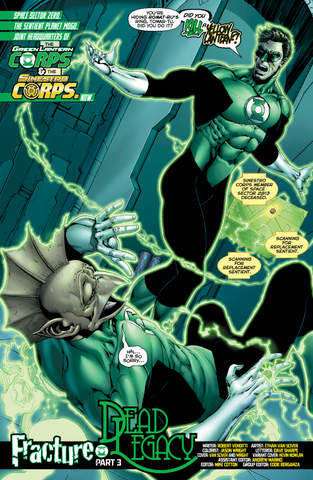 Hal Jordan and the Green Lantern Corps #24 interior art