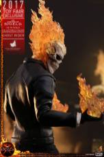 Hot Toys Agents of SHIELD Ghost Rider figure -back shot