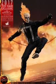 Hot Toys Agents of SHIELD Ghost Rider figure -leaping