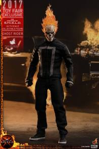 Hot Toys Agents of SHIELD Ghost Rider figure -standing