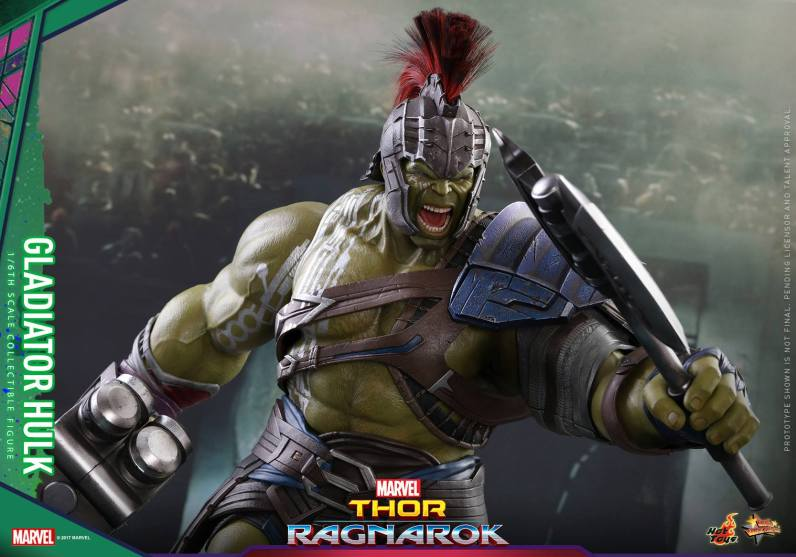 Hot Toys Thor Ragnarok Gladiator Hulk figure -axe ahead