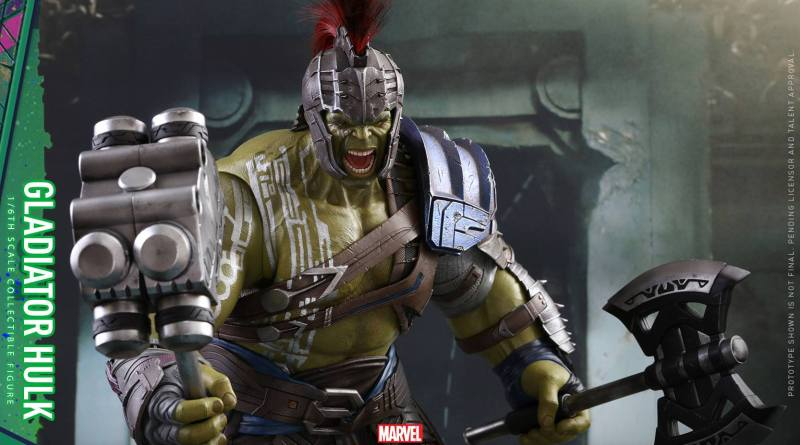 Hot Toys Thor Ragnarok Gladiator Hulk figure -main