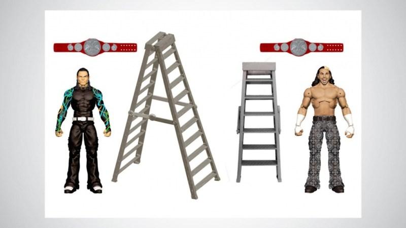 WWE Mattel Hardy Boys - Broken Hardys
