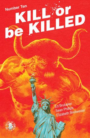 KillOrBeKilled #10 cover 7-12-17