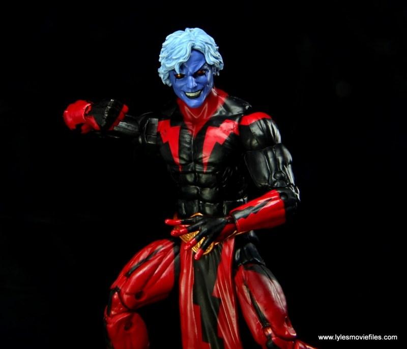 Marvel Legends Adam Warlock figure review - Magus close up