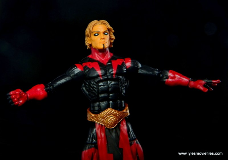 Marvel Legends Adam Warlock figure review - flying