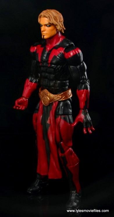 Marvel Legends Adam Warlock figure review - left side