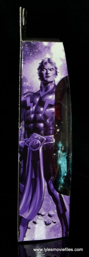 Marvel Legends Adam Warlock figure review - package side