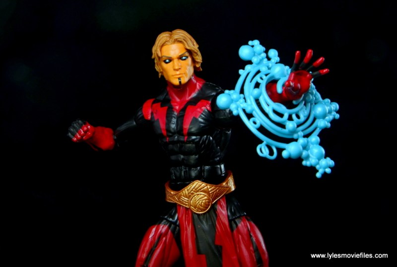 Marvel Legends Adam Warlock figure review - power blast