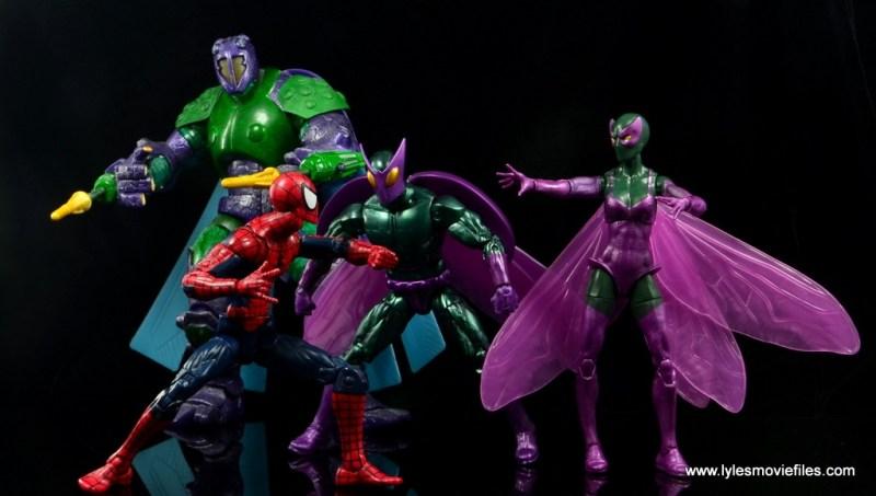 Marvel Legends Beetle figure review -Spider-Man vs Ultimate Beetle, Beetle and Beetle