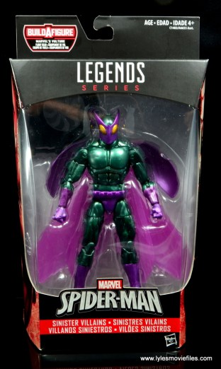 Marvel Legends Beetle figure review -package front