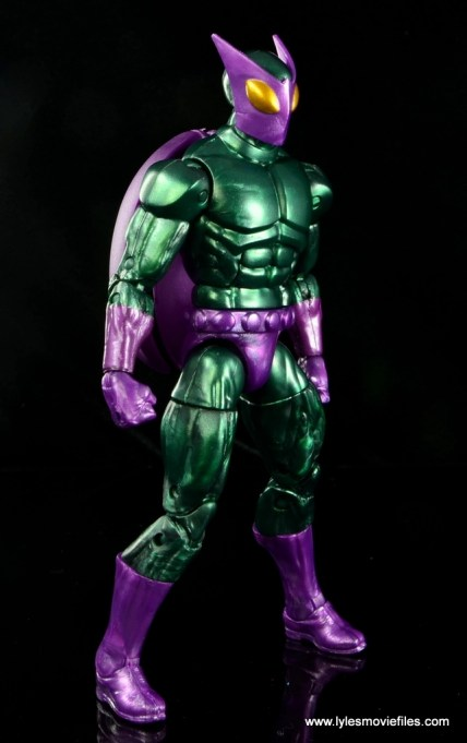 Marvel Legends Beetle figure review -right side