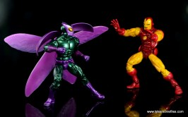 Marvel Legends Beetle figure review - vs Iron Man