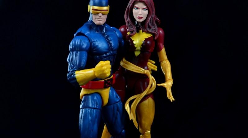 Marvel Legends Cyclops and Dark Phoenix figure review - Cyclops and Dark Phoenix