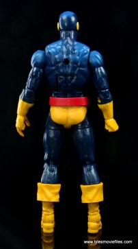 Marvel Legends Cyclops and Dark Phoenix figure review - Cyclops rear