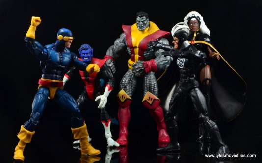 Marvel Legends Cyclops and Dark Phoenix figure review -Cyclops vs Havok