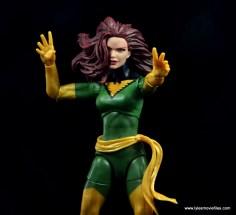 Marvel Legends Cyclops and Dark Phoenix figure review -Phoenix with alternate head