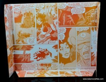 Marvel Legends Cyclops and Dark Phoenix figure review -package inner lining