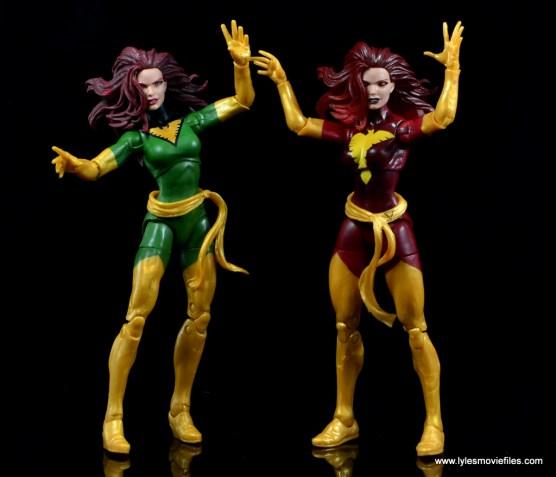 Marvel Legends Cyclops and Dark Phoenix figure review -with Phoenix